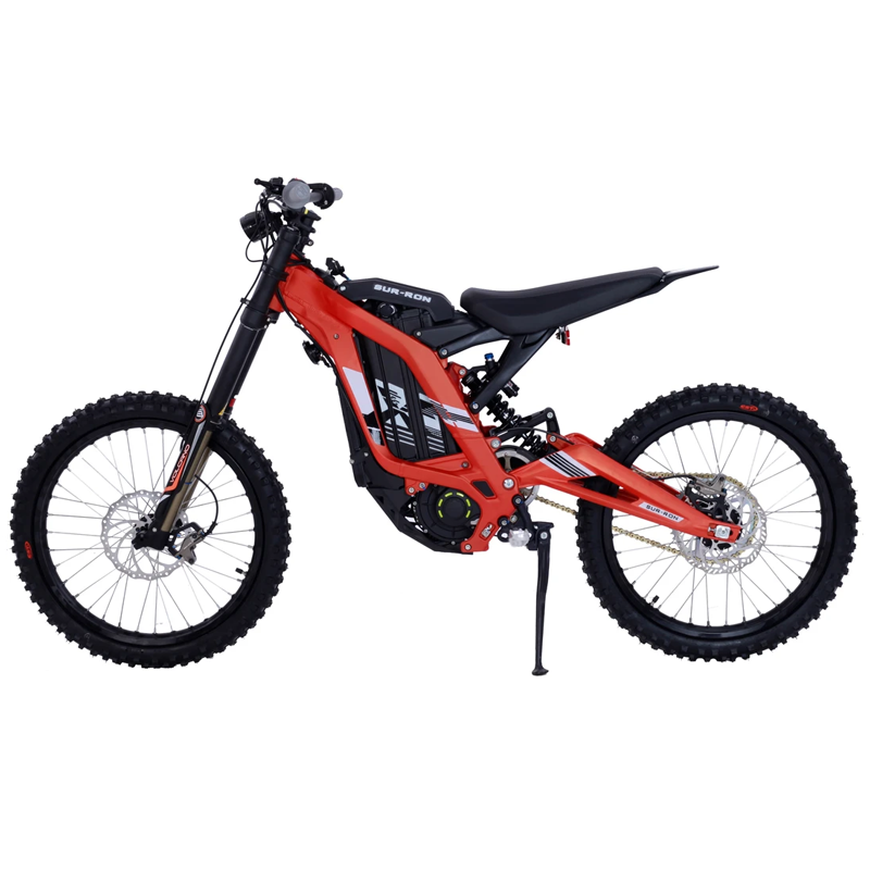 NEW SUR RON LB X-SERIES ELECTRIC DIRTBIKE REPLACEMENT DRIVE CHAIN 420-124 ORANGE