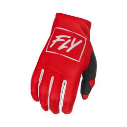 Glove Fly Lite Red / White