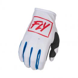 Glove Fly Lite White / Red...