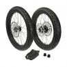 "Complete Supermotor Wheel Set 17"""
